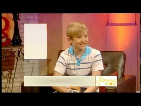 Ryan Collinson as Billy Elliot performance and interview on QVC 2011