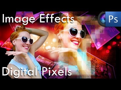 Photoshop Tutorial - Create An Awesome Digital Pixel Effect
