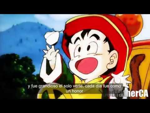 escuchar la musica de dragoon ball en espanol: