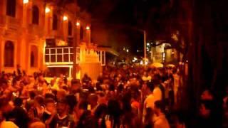 Bienvenida a Brasil. Grupo de Samba en Florianopolis. Febrero 2011.