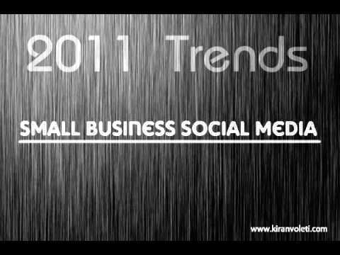 Trends in Social Media for 2011