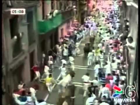 Séptimo encierro de San Fermín 2010 480p