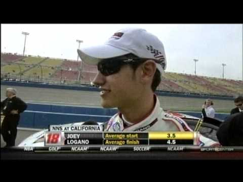 2012 NASCAR Nationwide Series Royal Purple 300 Qualifying