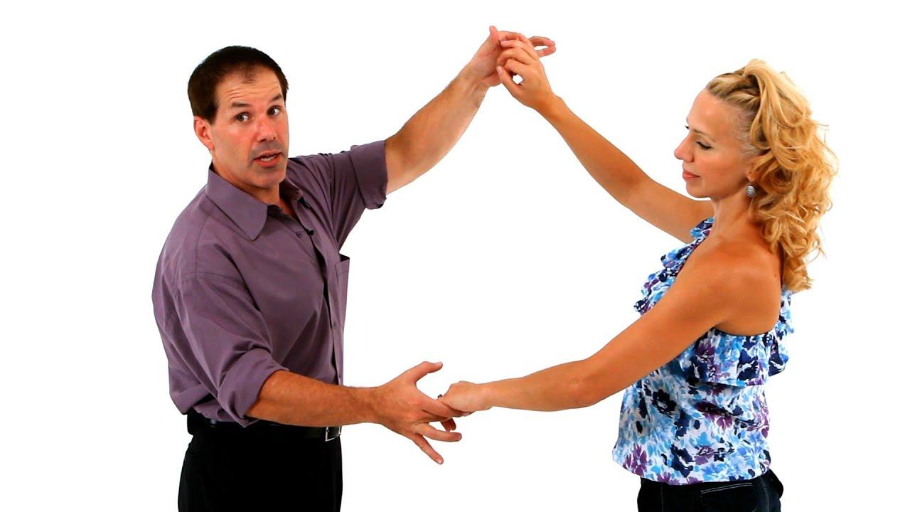 How to Do the She-He Turn   Swing Dance