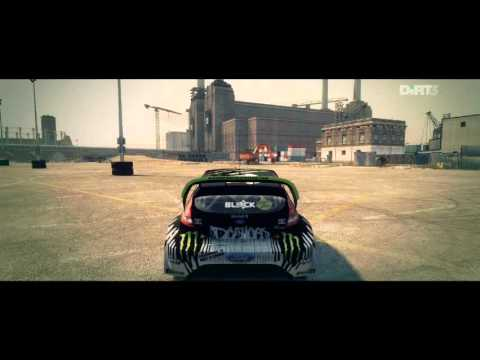 DiRT3-JOYRIDE-DC COMPOUND-7-GYMKHANA HUGE DRIFT