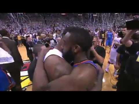 Miami Heat Celebration - 2012 NBA Champions.. Lebron James Finals MVP