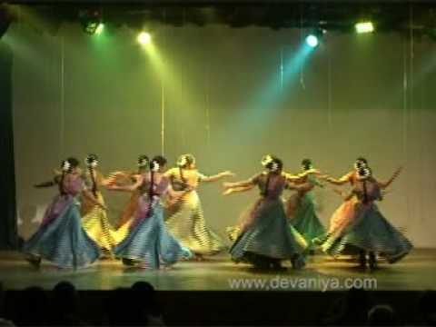 Taal aur Laya (clipping 2) - Kathak by Devaniya