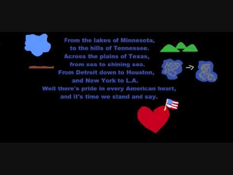 Lee Greenwood - Proud to be an american lyrics