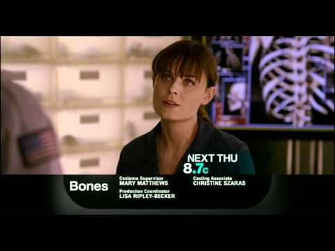 "Bones 6x09 ""The Doctor in the Photo"" promo"