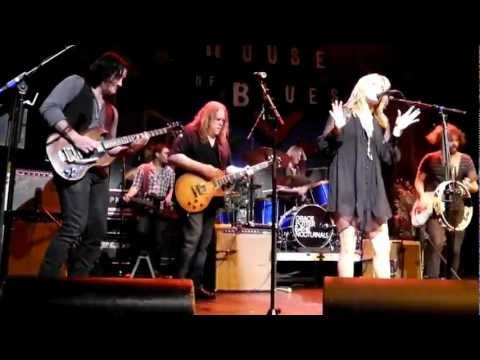 """Tush"" Grace Potter & the Nocturnals w/Warren Haynes NOLA HOB"