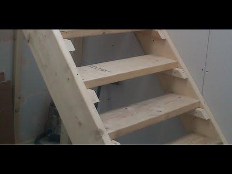 Самые простые лестницы своими руками 498