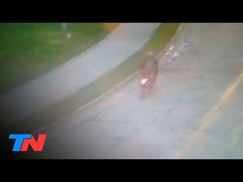 Video muestra como el presunto asesino lleva en moto a la adolescente Navila Garay