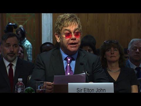 Elton John: U.S. Congress