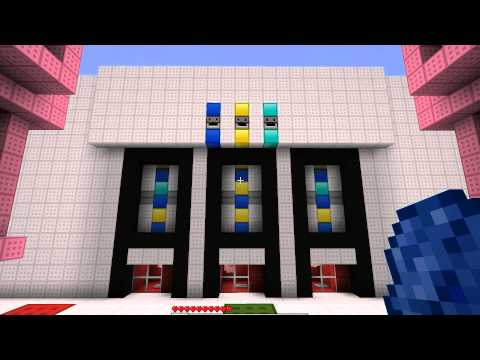 Minecraft Pig Powered Slot Machine