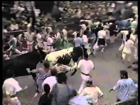 Encierro de San Fermín   8 de julio de 1987 480p