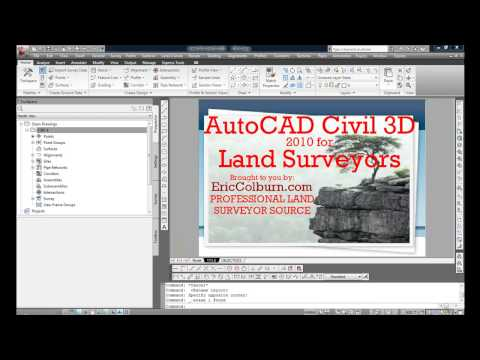 AutoCAD Civil 3D 2010 for Land Surveyors: Parcel Copy and Merge Part 2