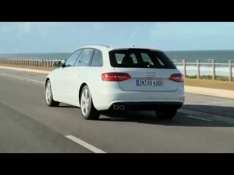 Audi A4 Avant Footage