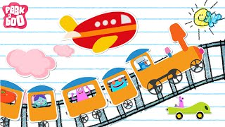 Aeroplane Aeroplane | Modes Of Transport | English Songs And Rhymes For Kids
