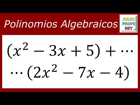 Suma de polinomios