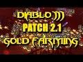 Million+ Gold Per Minute in Diablo3 2.1 Patch