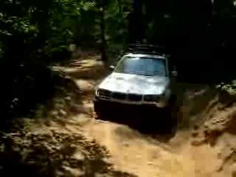 BMW X3 at Uwharrie national Forrest