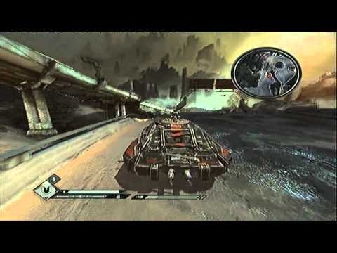 Rage Monarch Vehical Gameplay (PS3 Version)
