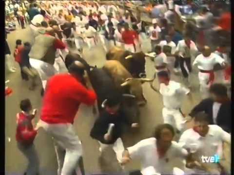Encierro de San Fermín   11 de julio de 1996