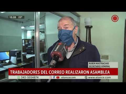 Empleados del Correo Argentino están en estado de alerta y asamblea permanente