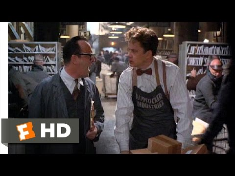 The Hudsucker Proxy (3/10) Movie CLIP - Mail Room Orientation (1994) HD