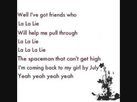 La La Lie - Jack-s Mannequin {Lyrics}