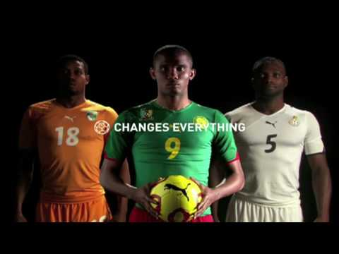 PUMA Reveals 2010 African Team Kits (and makes a splash)!