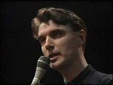 David Byrne - Knee Plays (1 of 10) - Tree