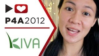 Project for Awesome 2012: Kiva