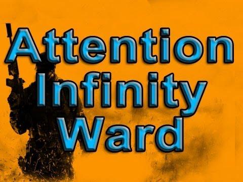 MW3: Open Letter to Infinity Ward Re: Modern Warfare 3