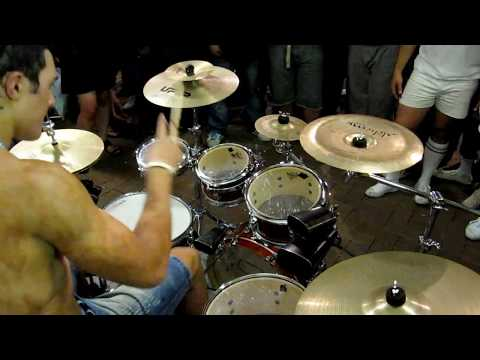 Amazing Stick Tricks Drum Solo Dylan Elise 2011 P6/10
