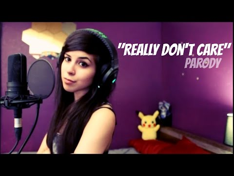 REALLY DON'T CARE ft. Nicki Taylor - Demi Lovato ft. Cher Lloyd | League of Legends Parody