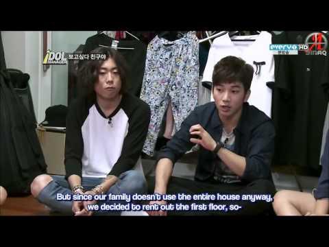 {SINAQ} 120914 MBLAQ Idol Manager Ep 5 (1/3)