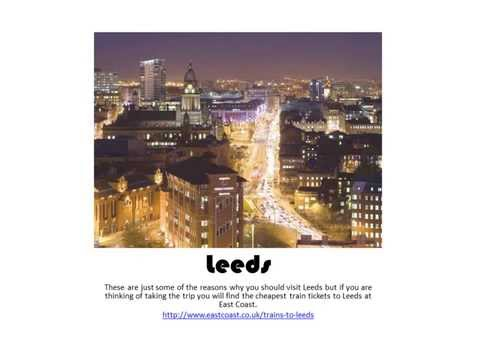 Leeds Top 10 Attractions