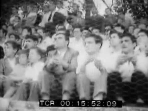 1952 - Baseball a Nettuno. I nomadi fanno spettacolo