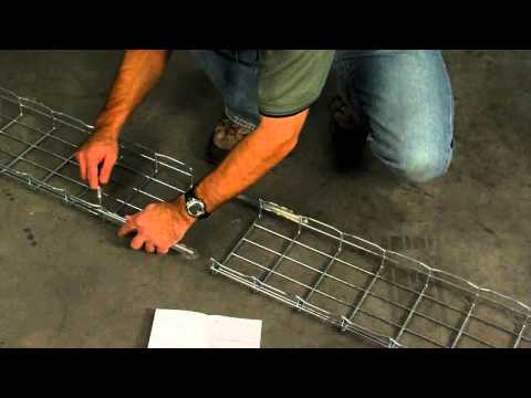 Cablofil: How to Splice Wire Mesh Tray Sections