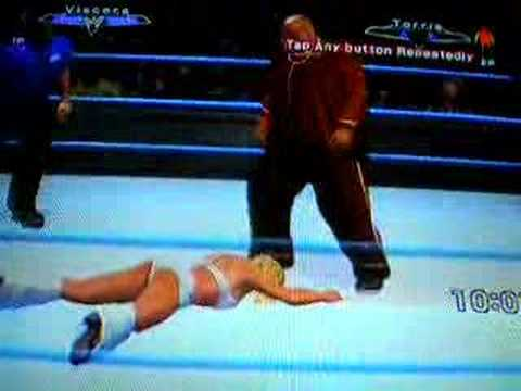 Violacion WWE Viscera