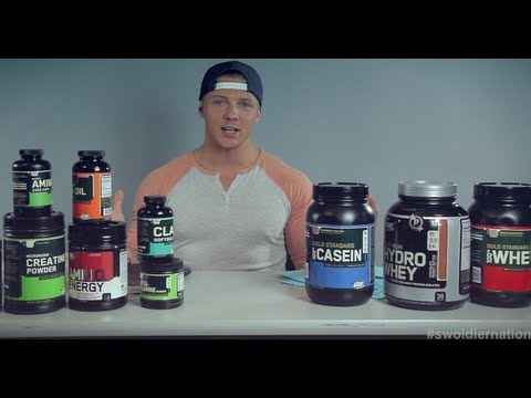 Swoldier Nation - Trainer Edition - Optimum Nutrition Supplements