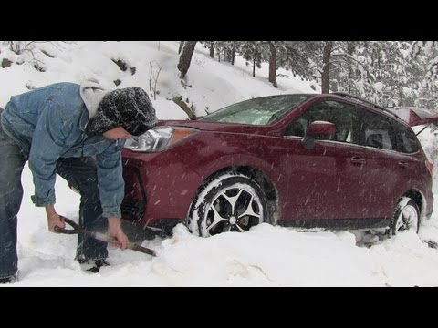 2014 Subaru Forester off-road snowy Misadventure & Review