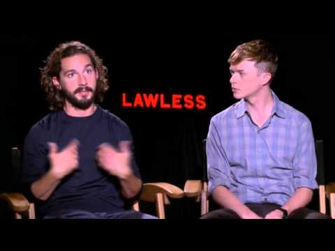 Shia LaBeouf Gets 'Lawless'