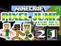 MINECRAFT Adventure Map # 21 - Pixel Jump & Run «» Let's Play Minecraft Together | HD