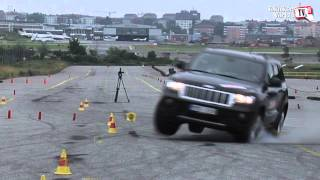 Jeep Grand Cherokee Moose Test