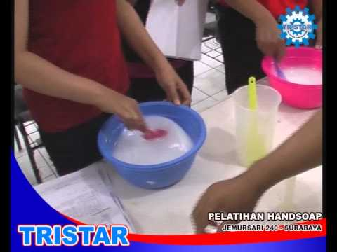 CARA MEMBUAT SABUN CAIR - HANDSOAP. KURSUS &amp; PELATIHAN WIRA USAHA. 031-81959295.