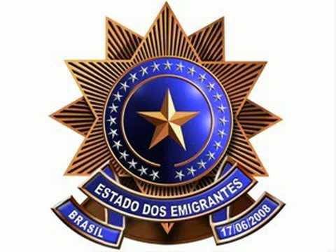 HINO DOS EMIGRANTES BRASILEIRO ! ! !