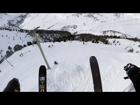 GoPro: Léo Taillefer wins the February 2016 Line of the Winter- Val d'lsére, France