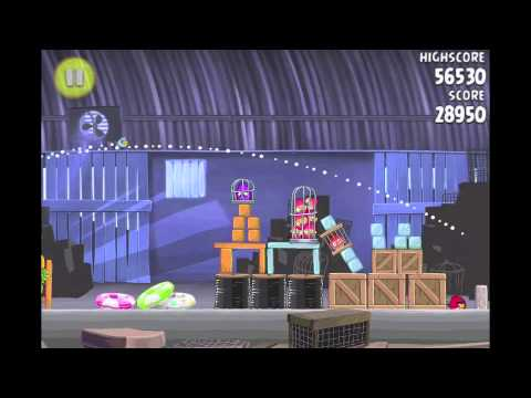 Angry Birds Rio Pineapple #3 Walkthrough Level 1-7